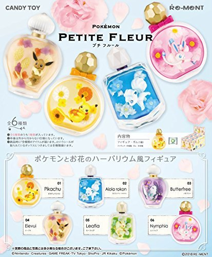 Petite Fleur 6個入 食玩・ガム (ポケモン)...