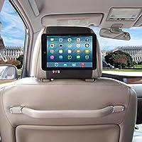 TFY iPad 車のヘッドレストホルダー –迅速に取り付け  すばやく取り外すタイプ (iPad Mini 4, 黒)