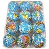 PU地球儀ボール 12個セット