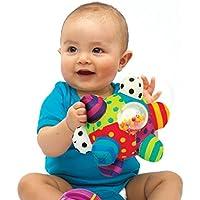 Yiping 子供用 知育玩具 ベビー キュート プラッシュ ソフトクロス ハンドラトル ベル キッズ 面白いボール おもちゃ ギフト
