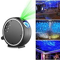 Projector Light, Kingtoys LED Projection Romantic Night Lamp, Blue Star Light Suitable for Birthday Parties, Family Party, KTV, Dance Halls, Clubs, Bars, Karaoke, Kids Party, Dance Floor [並行輸入品]