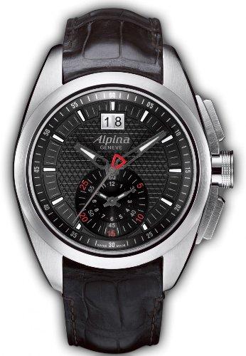 Alpina Geneve Nightlife 353B4RC6 Club Chrono クロノグラフ for Him very sporty 男性用 メンズ 腕時計 (並行輸入)
