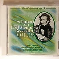 Schubert On Emi Memorial Recordings Vol.19