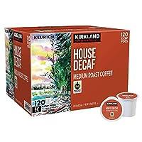 【並行輸入品】Kirkland House Decaf Coffee K-Cup カークランド ハウス デカフ コーヒー キューリグ K cup 120個入り