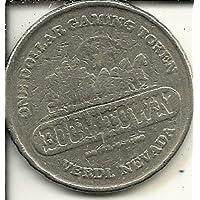 $ 1ネバダ州BoomtownカジノトークンコインVerdi Obsolete