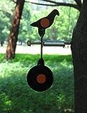 Spinning Airgunターゲットscrewed-typeスチールPlinkingターゲットPigeonペレットターゲット
