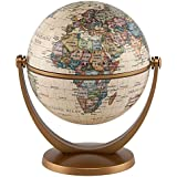 "Waypoint Geographic GyroGlobe 4"" Classic Oceans - UP-to-Date Compact Mini Globe Swivels in All Directions - Perfect for Small Spaces at Home, Office & Classroom"