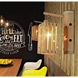 CWJ ランプ 壁ランプ 装飾ライト 寝室 通路 竹 壁 中国木製 日本風 東南アジア風 竹 壁 ホテル エンジニアリング 農場 レストラン 家庭用照明