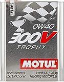 MOTUL (モチュール) 300V TROPHY (トロフィー) 0W40 100%化学合成 (エステルコア) エンジンオイル 2L (並行輸入品) 103288