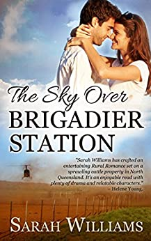 The Sky over Brigadier Station (Brigadier Station Series Book 2) by [Williams, Sarah, Serenade Publishing]