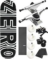 """ゼロスケートボードボールドスケートボード8"""" x 31.6"""" Complete Skateboard–7項目のバンドル"""
