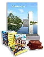 面白いオクラホマシティ料理の贈り物⌘「OKLAHOMA」⌘素敵なオクラホマチョコレートセット! (白)