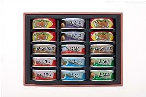 ふくら印 惣菜缶詰7種類15缶入り 味の匠A【非常食・ギフト】
