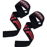 正規品 RDX リストストラップ トレーニング ウェイト リフティング プロシリーズ 筋トレ 滑り止めパッド付き 両手 セット 各色