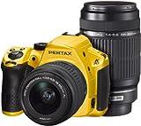 PENTAX デジタル一眼レフカメラ K-30 ダブルズームキット [DAL18-55mm・DAL55-300mm] シルキーイエロー K-30WZK S-YE 14595