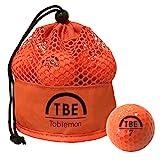 TOBIEMON(トビエモン) ゴルフボール 公認球 2ピース 1ダース(12個入り) オレンジ メッシュバック入り TBM-2MBO