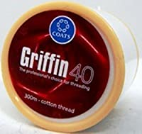 2 Spools of GRIFFIN Eyebrow Threading Thread Cotton -Antiseptic Facial Hair Remover by Artcollectibles India