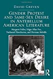 Gender Protest and Same-Sex Desire in Antebellum American Literature: Margaret Fuller, Edgar Allan Poe, Nathaniel Hawthorne, and Herman Melville by David Greven(2014-03-27)