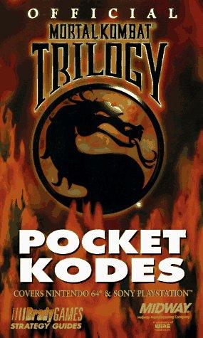 Download Official Mortal Kombat Trilogy Pocket Kodes (Official Strategy Guides) 1566866405