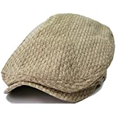 BIGWATCH(ビッグワッチ) 帽子 大きいサイズ カーボン ハンチング ベージュ GHN-02 メンズ