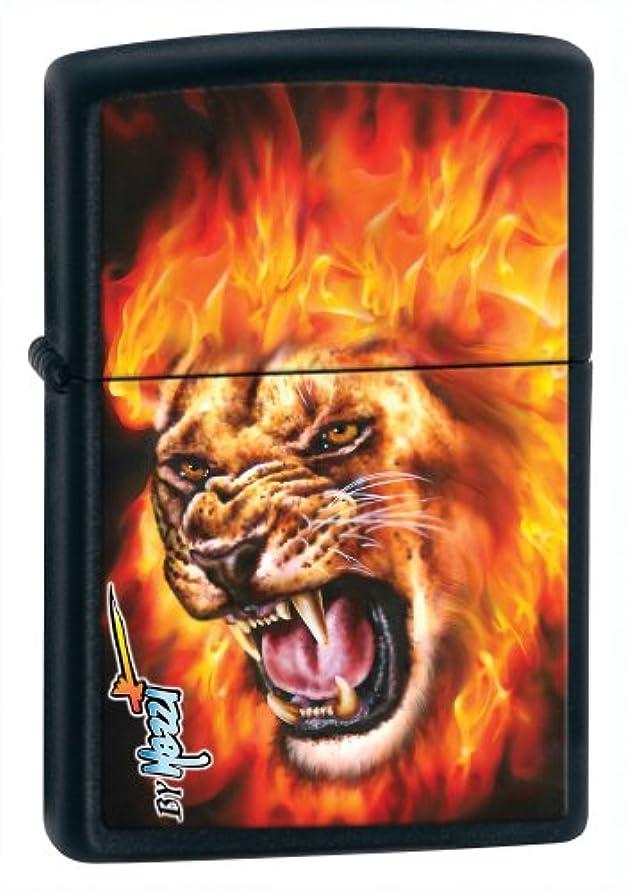 地震ソロを必要としていますZippo/ジッポー:28003 (クラウディオ?マッツィ)Mazzi-Flame Lion