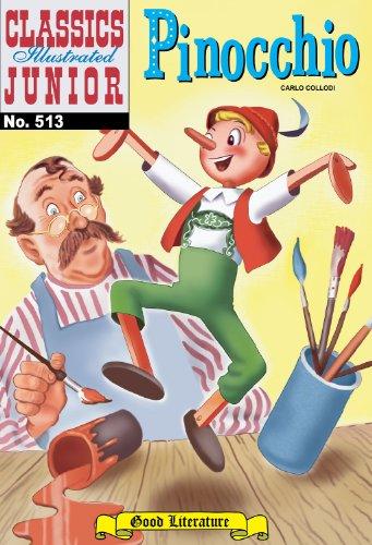 Pinocchio (with panel zoom)  - Classics Illustrated Junior