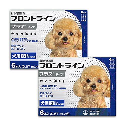 フロントラインプラス犬用 S(5~10kg)6本入 2箱セッ...