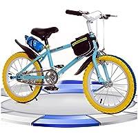 自転車 子供のマウンテンバイク男性と女性の学生18インチ青