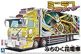 青島文化教材社 1/64 ミニデコN E X TシリーズNo.09 みちのく花電車 四軸ウイング