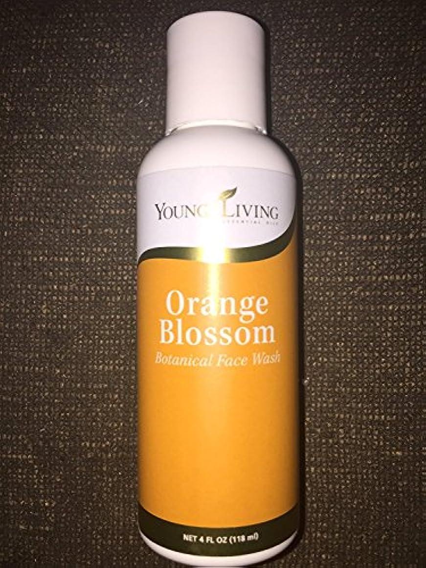 吹きさらし赤道紀元前Young Living オレンジブロッサム?フェイシャルウォッシュ - 4液量オンス