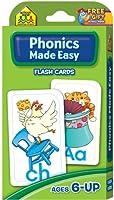 フラッシュcards-phonics Made Easy 54/ Pkg SKU # 1個1465376MA