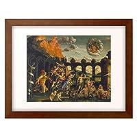 アンドレア・マンテーニャ Andrea Mantegna 「Victory of virtue over vice.」 額装アート作品