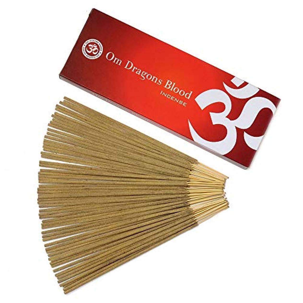 ジャケット終わった群がるOm Incense Works Natural Fragrance Incense Sticks 100グラム 709733007088