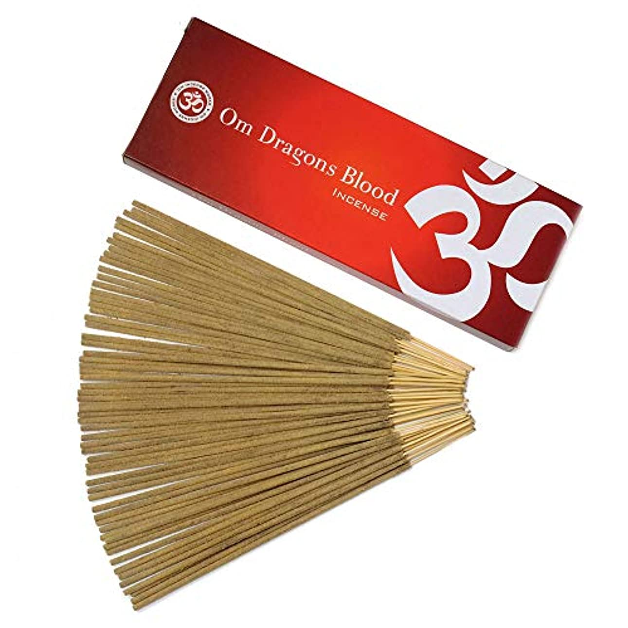 トリップレンジ崩壊Om Incense Works Natural Fragrance Incense Sticks 100グラム 709733007088