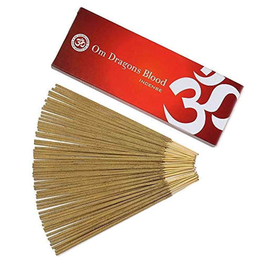 ダンプバリケード置くためにパックOm Incense Works Natural Fragrance Incense Sticks 100グラム 709733007088