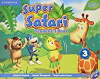 Super Safari American English Level 3 Student's Book with DVD-ROM (Super Minds)