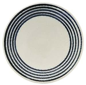 波佐見焼 和山窯 藍駒 小皿