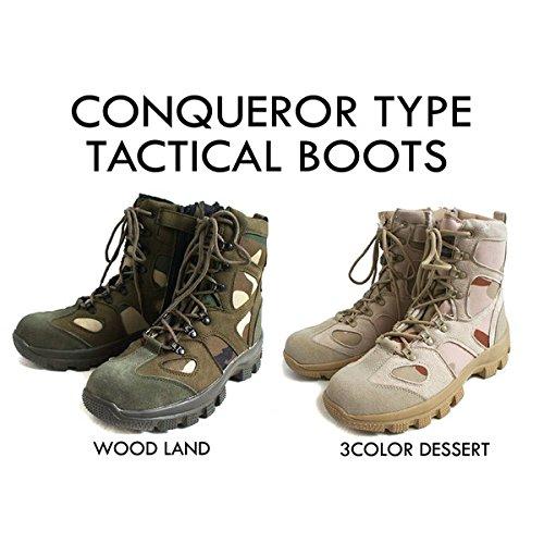 アメリカ軍 サイドジッパブーツ/靴 【 10W/28cm 】...
