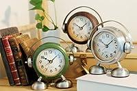 CREPHA 置き時計 グリーン サイズ:17×16×8cm
