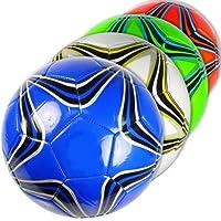 公式サイズカラフルStar Soccer Balls卸売バルクロット(パックof 12 )