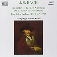 From the W.F. Bach Notebbok / 5 Little Preludes