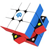 Speed Cube GAN 356 M 3x3 Stickerless Magnetic Puzzle Cube with GES (Standard Edition/Light Edition),A