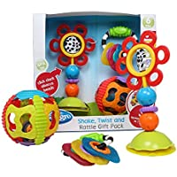 Playgro Baby Shake, Twist, and Rattle Pack by Playgro
