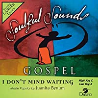 I Don't Mind Waiting [Accompaniment/Performance Track]【CD】 [並行輸入品]