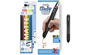 3Doodler Create+ 3D Pen Set with 75 Filaments (600 ft. of Extruded Plastic)