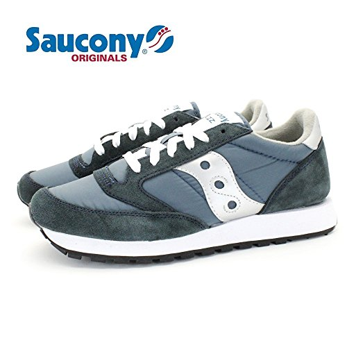 (SAUCONY) JAZZ ORIGINAL (NAVY) 28.5cm サッカニー ジャズ オリジナル ユニ レトロ ランニング スニーカー [並行輸入品]