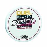 デュエル(DUEL) ライン(フロロカーボン): HDカーボンプロ100S 3号 : クリアー