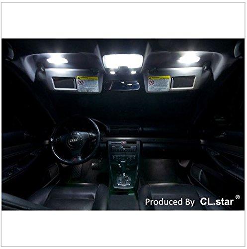 アウディ Audi A4 S4 B8 / S4 8K アバント ('12.4~ )【 室内灯 パーフェクトセット】LED 16カ所 キャンセラー内蔵  ルームランプ 6000K