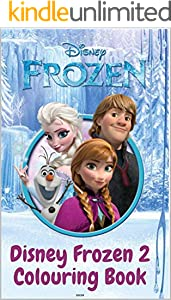 The Drawing Book for Kids :Disney's Frozen 2 (Colouring Book): Best deals for Disney Frozen Elsa Anna Drawing Board Kids Child Toy 3 - 5 (English Edition)