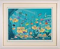 スチュワート・マスコウィッツ 「Taxi Fish」 版画 ジークレー